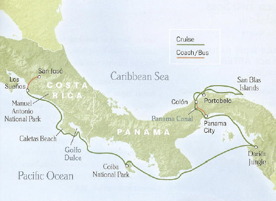 Panama to Costa Rica - Between two Seas